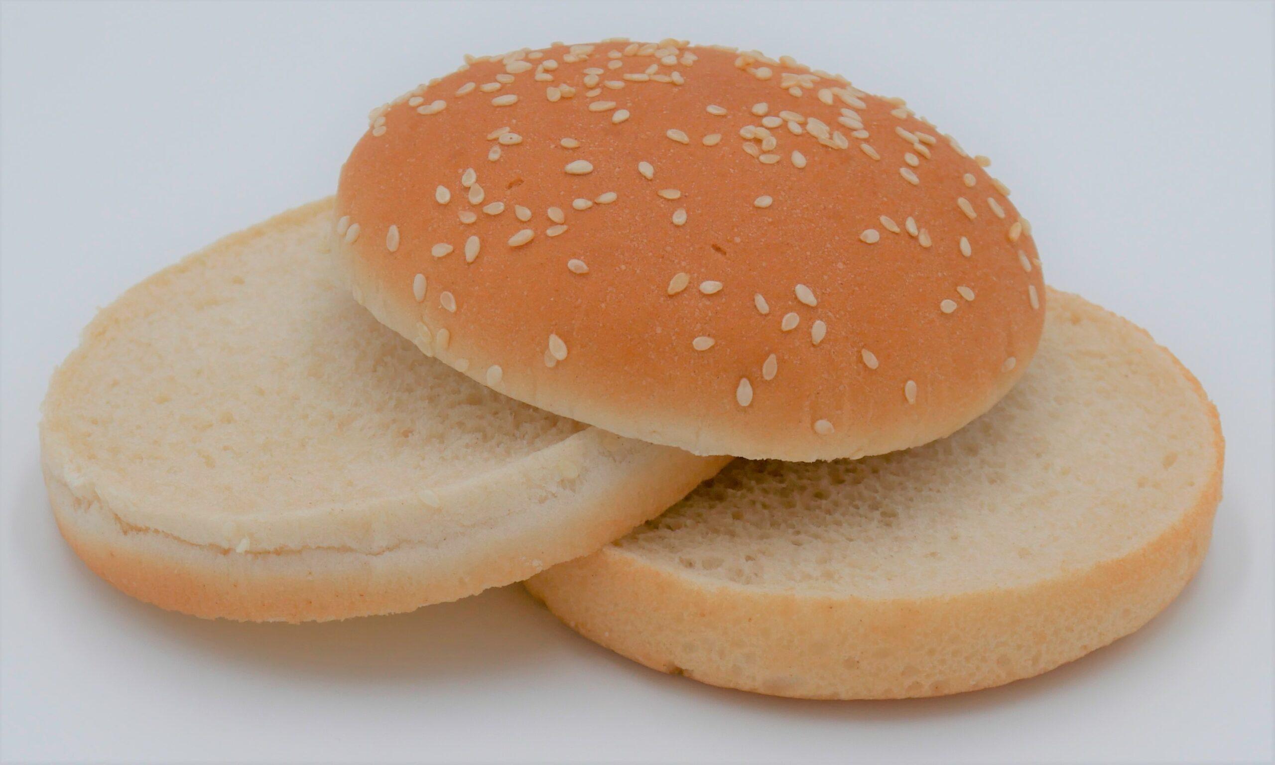 Hamburger Bun mit Sesam Double Cut 78g Image