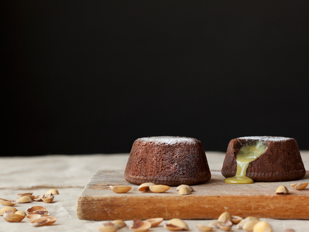 Soufflè al Cioccolato e Pistacchio Image