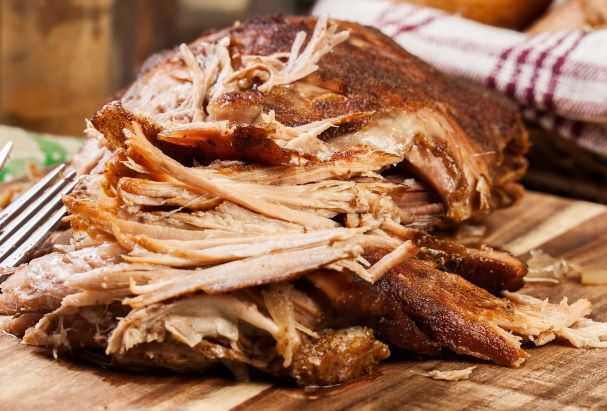 Pulled Pork in BBQ Sauce Image