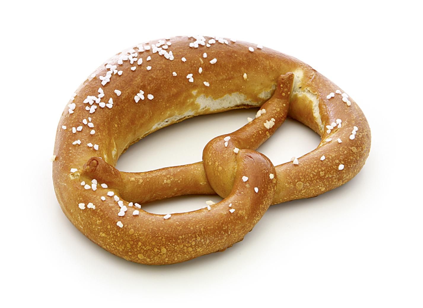 Bretzel mit Salz Image